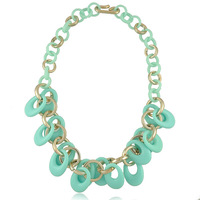 N1683 Europe and the United States the new fashionable OL queens necklace jewelry wholesale and foreign trade Free shipping