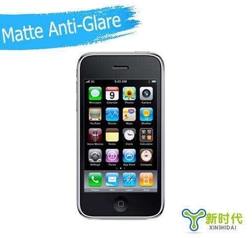 "iPhone3 Screen Protector Matte Anti Glare LCD Protective Film For iphone3 3gs 3g 3.5""Inch!Free Shipping!5pcs XINSHIDAI(China (Mainland))"