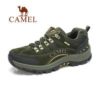 Brand Camel Shoes Men Hiking Shoe Leather Waterproof Shoes Outdoor Climbing Walking Shoes Men Zapatillas