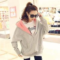 2014 Korean  loose casual  of  cardigan Women sweater jacket female