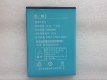 Original BL-103 2000mAh Battery for Newman K1A Smartphone + Free shipping