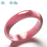 Authentic high-grade opal bracelet ultra bright cat's eye effect Shining woman A variety of color optional boxes of gifts
