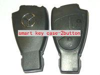 2 button Benz black smart key case (Euro)