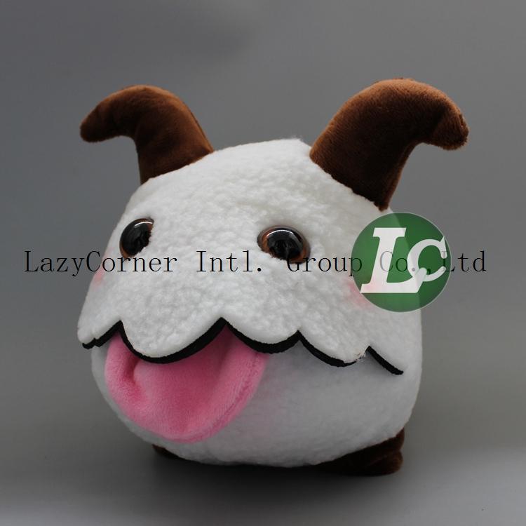 Retail 21cm Poro Kid Soft Toys Figure Toys Stuffed Animals Movice Cartoon Toy Anime Plush Toys(China (Mainland))