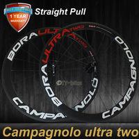 NEW! Straight Pull Wheels(not J-bend) 50mm clincher/tubular carbon bike wheels