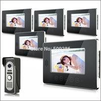 "2014 New Top Fashion free Shipping Video Doorphone & 7"" TFT LCD Indoor Monitor & Video Intercom System XSL-V70T-M2 1*5"