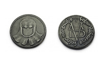A Song of Ice and Fire Game of Thrones Coin of the Faceless Man Valar Morghulis Morgulis George R.R Martin Arya Stark