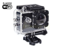 For Big Sale Day Original SJ4000 WIFI Action Sport Camera 1080p Waterproof with 1 year Warranty