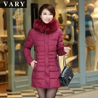 Free Shipping Plus Size Thickening Wadded Jacket Women Winter Coat Female Medium Long Cotton Padded Parkas M8150
