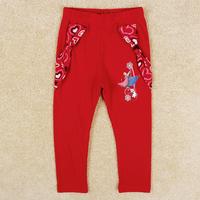New arrival fashion Frozen Anna girls leggings autumn bow lovely pants for children girl G5331Y