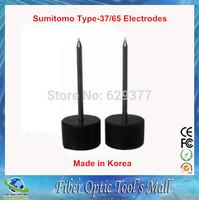 3000times Made in Korea Fusion Splicer Electrodos for Sumitomo Type-37/65 Fiber Electrode