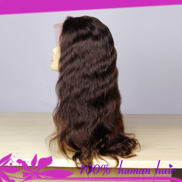 Migliore a buon mercato all'ingrosso di qualità peruviana umano parrucca anteriore del merletto onda del corpo per gli afro-americani le donne spedizione gratuita