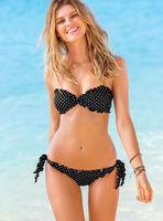 camisa de time Bikini Set secret women swimwear sexo push up  dots biquini fio dental vestido saida de praia moda praia secret