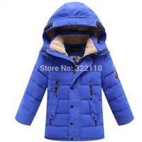 Kids Winter Warm Thickening Down coat Warm Down jacket Baby Outerwear Children Cold Clothing Duck Down Parkas