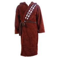 NEW High quality Star Wars Chewbacca Galactic Coral Fleece Bathrobe