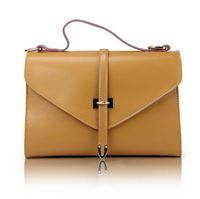 New 2014 Fashion Lady Vintage Messenger Bag Girl Solid Shoulder Bag Women Good Quality PU Flap Pocket Bags KB43