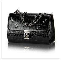 new 2014 fashion   women leather handbags Chain Shoulder Bag women messenger bag KB44