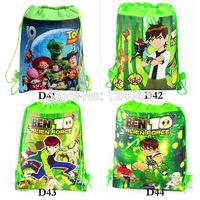 1Piece Toy or Ben Kids Drawstring schhol bag,children cartoon printing backpacks bags,school backpacks,mochila kids