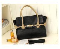 New 2014 Fashion Women Handbag Elegant Spinner Package PU Leather Messenger Bag Vintage Lady Shoulder Bag KB393