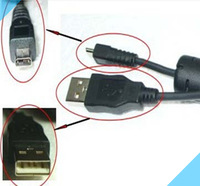8 Pin USB Digital Camera Data Cable, USB Data Cable For Nikon Camera P1 P2 P3 P4 P50 P60 P80 P90 P5000 P5100 P6000 Free Shipping