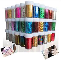 Designs Nail Art Transfer Foils Sticker,12pcs/lot Hot Beauty Free Adhesive Nail Polish Wrap,Nail Tips Decorations Accessories