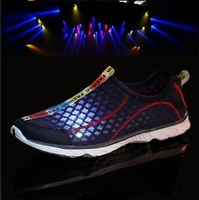 2014 Summer top quality men's sneaker Hot brand outdoor Jogging sport shoes Breathable summer men casual shoes Running shoes