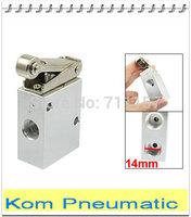 "1/4"" Roller Lever Mechanical Air Valve Hand Manual Valve, 2/3 Way JM322 JM-07"