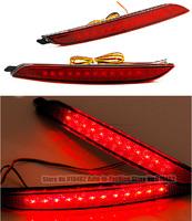 Free Shipping Car Red Len Rear Bumper Reflector LED Stop Brake LED brake rear Lamp for Hyundai Elantra MD Avante  2013
