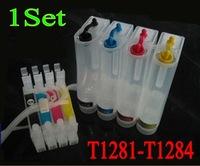 Free Shipping T1281 1282 1283 1284 CISS ink cartridge For Epson Stylus S22/SX125/SX400W/SX405W Office BX305F/BX305FW