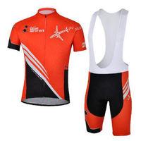 Bike Cycling Clothing Bicycle Wear Suit Short Sleeve Jersey + (Bib) Shorts S-3XL  CC1006
