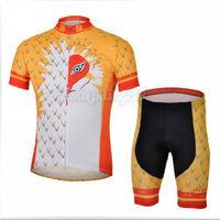 Bike Cycling Clothing Bicycle Wear Suit Short Sleeve Jersey + (Bib) Shorts S-3XL  CC1013