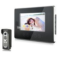 "2014 New Top Fashion free Shipping Video Doorphone & 7"" TFT LCD Indoor Monitor & Video Intercom System XSL-V70T-M2 1*1"