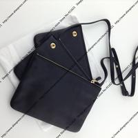 22CM Classic Women Trio Bag / Soft Sheepskin Designer Trio Bag With Gold Hardware & Cross Body Strap (SPG396)