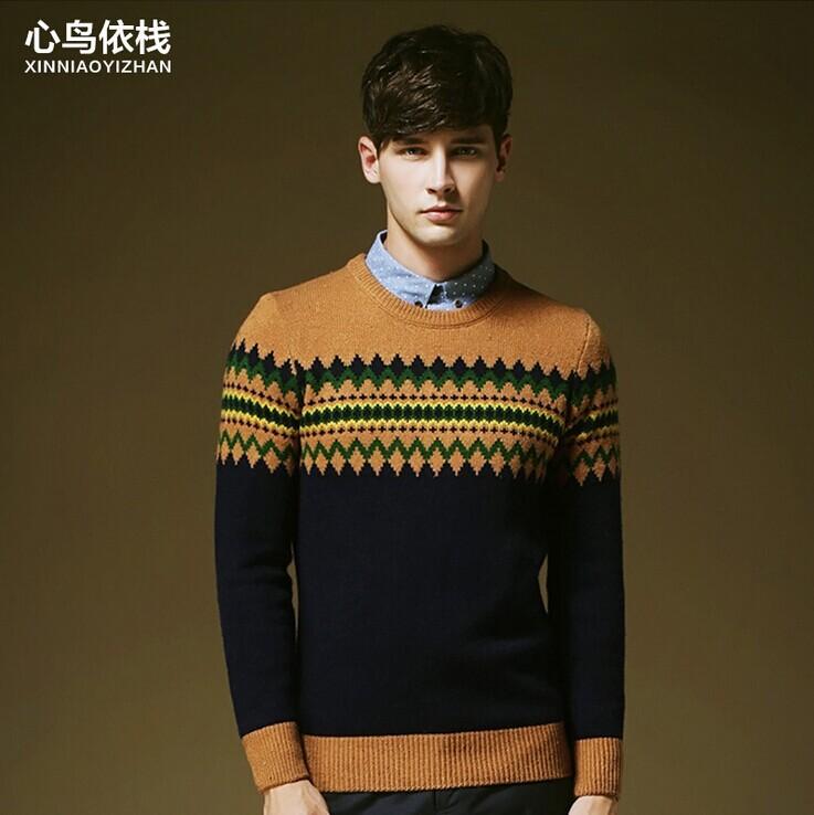 Мужской пуловер Slim Fit 2Colors /drop S6613