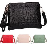 Promotion 2014 New Arrival Genuine Leather Crocodile Women Handbag Shoulder Bag Messenger Bag Day Clutch Handbag M98