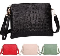 Promotion 2014 New Arrival Genuine Leather Crocodile Women Handbag Shoulder Bag Messenger Bag Day Clutch Handbag M98