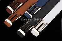 5colors E letter belt Design Brand Belt for men PU Leather belt pin Buckle jeans Fashion Gift dropshipping