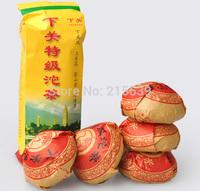 """[GRANDNESS] 2014 Premium Xiaguan Toucha 100g X 5pcs """" Te Ji"""" Raw Sheng Puer Tea Puerh Pu'er Tea classic tea 500g"""
