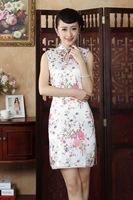 Free Shipping 2014 Hot Sale Chinese Traditional Dress Cheongsam size :s-2xl