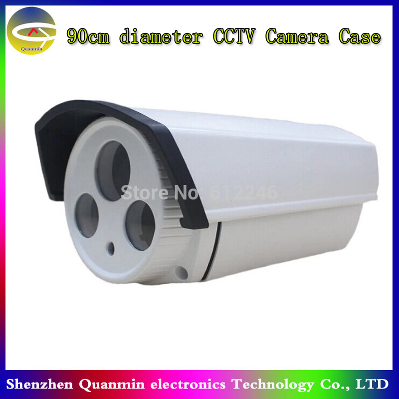 Hot New IP66 waterproof Outdoor Camera Housing Aluminum Camera Housing For Security CCTV Box Camera(China (Mainland))