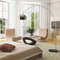 After the Italian modern minimalist living room floor lamp creative lamp bedside floor bedroom stylish lighting fixtures