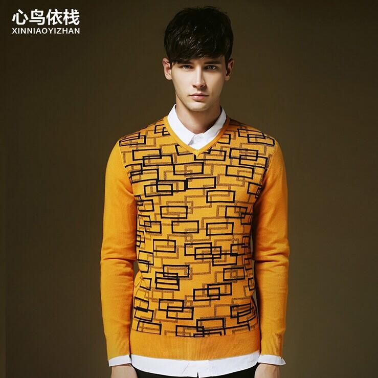 Мужской пуловер v/xxl S6213