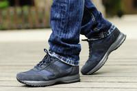 italian Luxury H logo men leisure sneaker 2014 new, genuine leather interactive fashion shoes leisure climbing footwear for men