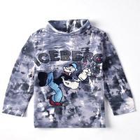 NOVA kids wear child cartoon printed kongfu man ICEBERG hot sale fashion boys long sleeve t-shirt A3051
