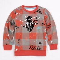 New hot fashion nova kids brand baby boys children clothing cotton spring long t shirt for baby boys A3579