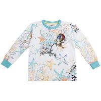NOVA kids wear cartoon clothing printed stars and dragon hot sale boys long sleeve t-shirt A3366