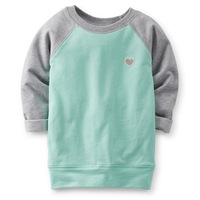 freeshippng new carters girl terry tshirt ,long sleeve,fashion baby kids girls t-shirt tops tees