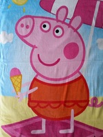 Free shipping NEW DESIGN PEPPA PIG Beach Towel Girl Girls Pool 70X140 CM bikini covers 6 pcs/lot