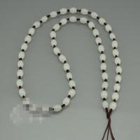 Fine jade pendant rope Hand knitting m bead string High-grade jade jade rope line