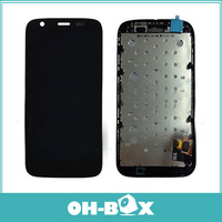 Glass LCD Display Touch Screen Digitizer Assembly Replacement For Motorola MOTO G XT1032 XT1033 with Frame Free Shipping